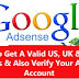 How To Get A Valid US, UK Address And Verify Your Adsense Account For Free