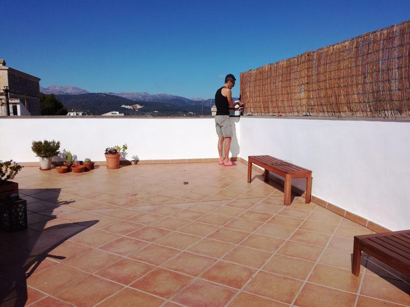 44 gradi a febbraio a Mallorca :-)
