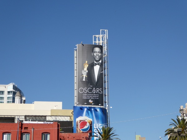 Chris Rock Oscars billboard