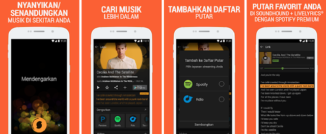 Aplikasi Pemutar Musik Android Terbaik Dengan Lirik