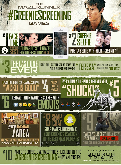 Maze Runner The Scorch Trials Movie Guide
