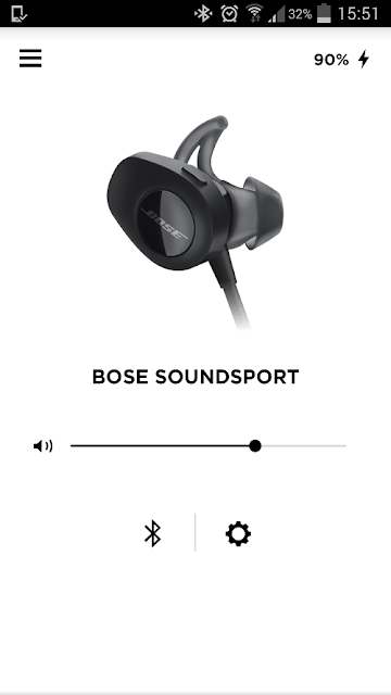 Bose SoundSport Wireless - Bose Connect app