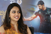 Rakul Preet Singh smiling Beautyin Brown Deep neck Sleeveless Gown at her interview 2.8.17 ~  Exclusive Celebrities Galleries 188.JPG