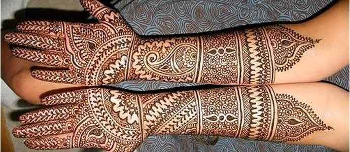 Latest Bridal Mehndi Designs 2017 For Hands Full 4