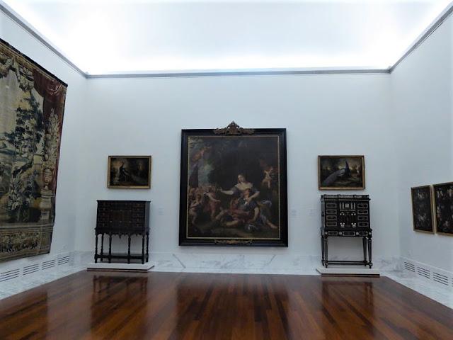 sala nel museo delle belle arti di valencia