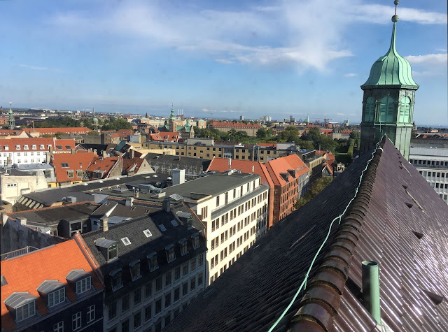 view, round tower, copenhagen