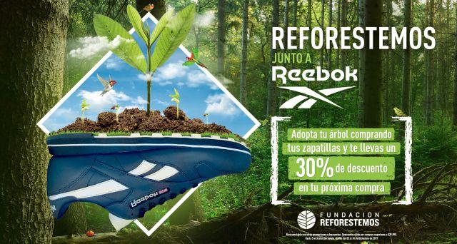 """Iniciativa """"Reforestemos junto a Reebok"""" donará 2.500 nuevos árboles"""