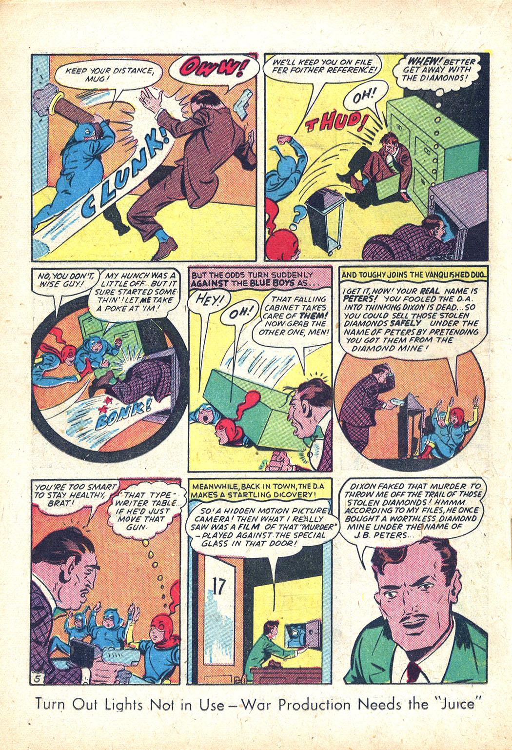 Read online Sensation (Mystery) Comics comic -  Issue #34 - 28