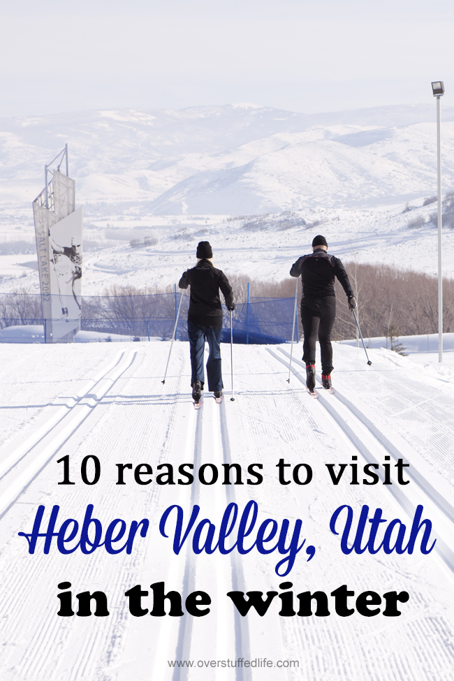 Heber Valley | Utah | Cities | Home | winter vacation ideas | family travel | snow sports | cross country ski | snowmobile | sledding | downhill ski | ice skate | lodge | winter resort | Heber Creeper | family travel ideas for winter vacations | winter travel destinations | hot springs