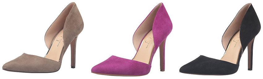Jessica Simpson Cenya Dress Pumps, Suede Pumps, heels on sale