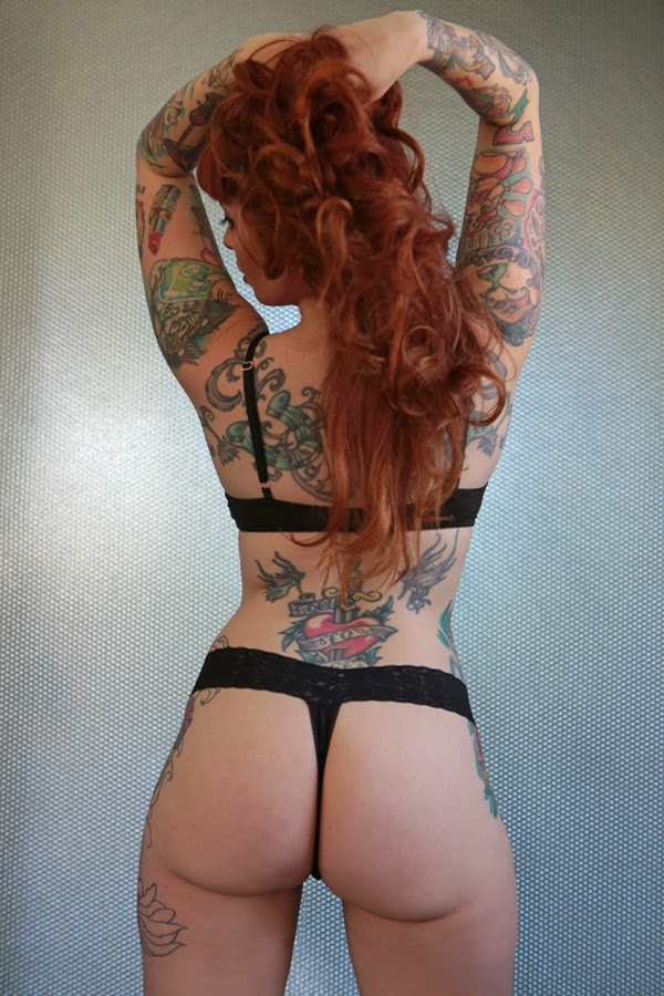Kitty Crystal | Female Models With Tattoos | Sexy Tattooed Girls