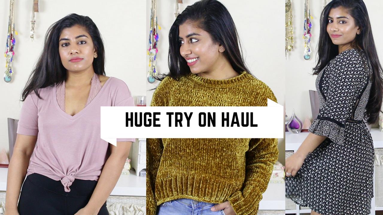 0da5f35fe4f8a FashionMoksha: Huge Try on Haul | Zara, Forever21, Sephora,Pacsun ...