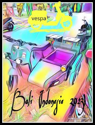 VESPA BALI (indonesie 2013)