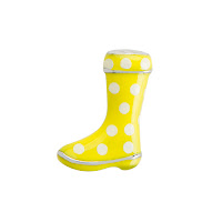 Origami Owl Yellow Rain Boot Charm available at StoriedCharms.com