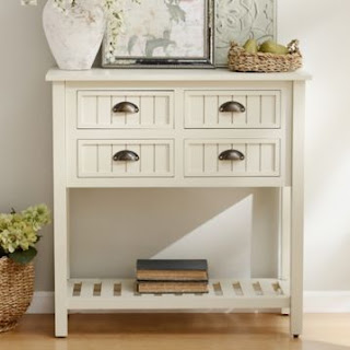 Small Entry Table with Drawers
