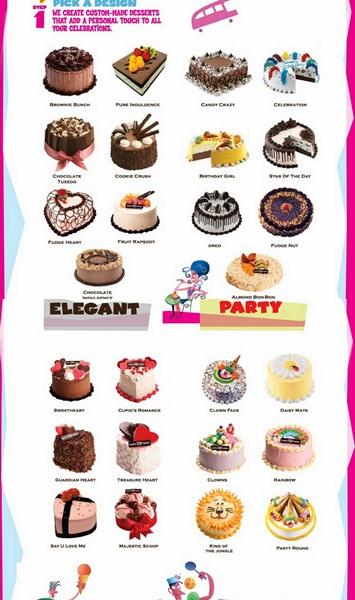 Harga Ice Cream Cake Baskin Robbins