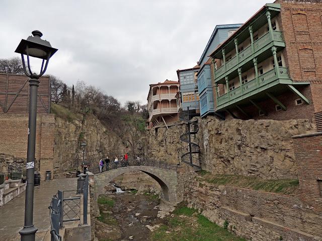 старый тбилиси. балкончики