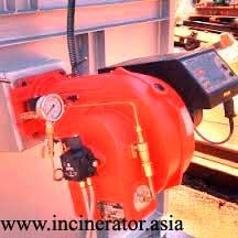 burner incinerator