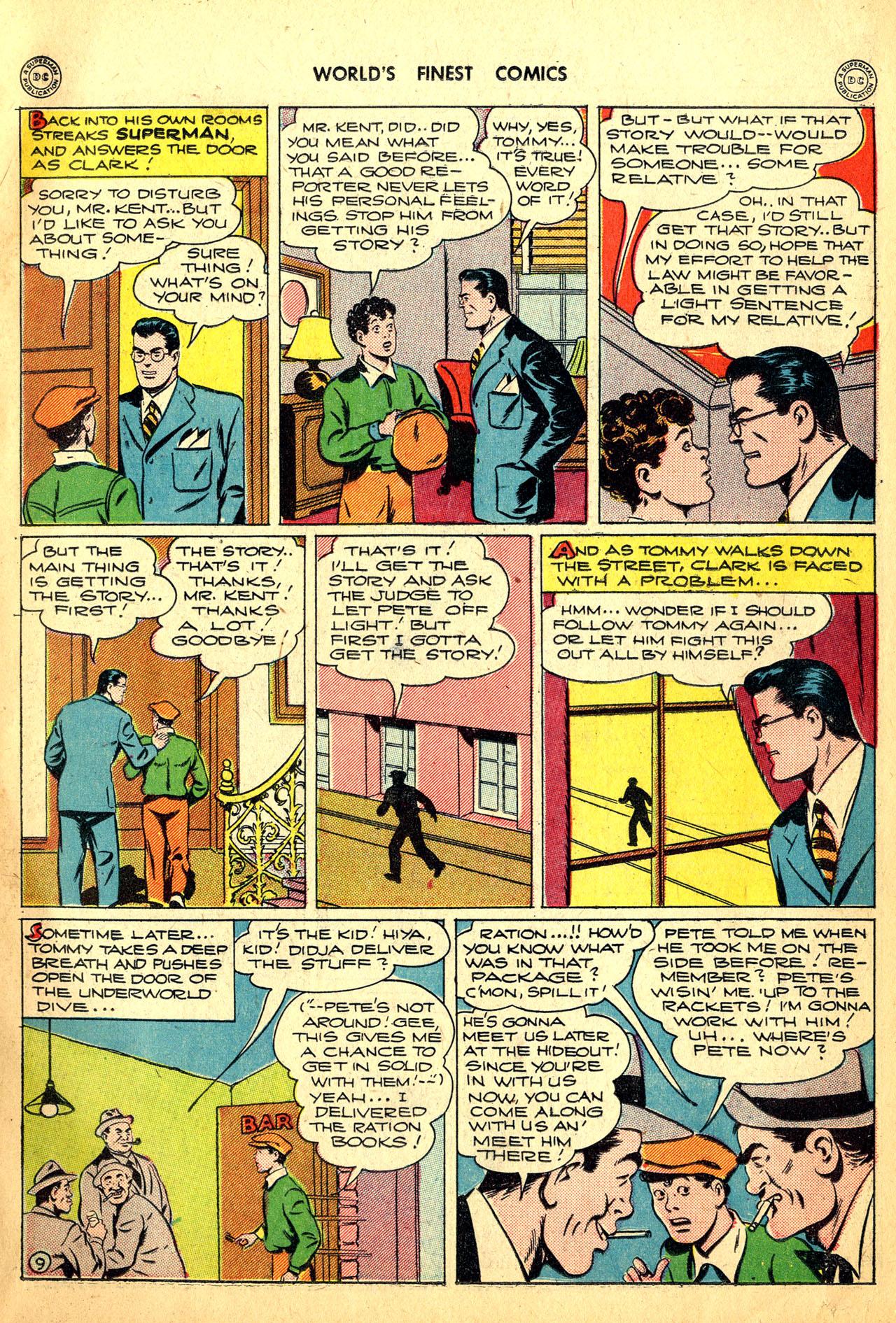Read online World's Finest Comics comic -  Issue #18 - 11