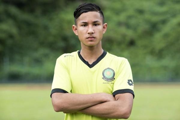 Leicester pikat anak saudara Sultan Brunei