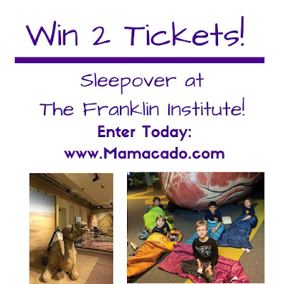 Win 2 Tickets to The Franklin Institute Camp-In