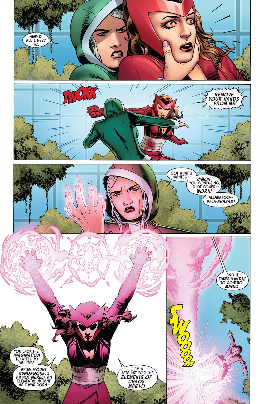 Scarlet Witch shows why she is more than just a mutantProperty of Marvel Comics