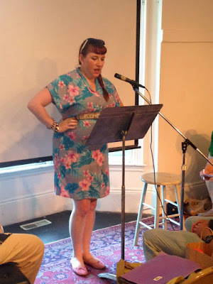 Bridget Eileen poetry reading at the 2015 Boston Poetry Marathon
