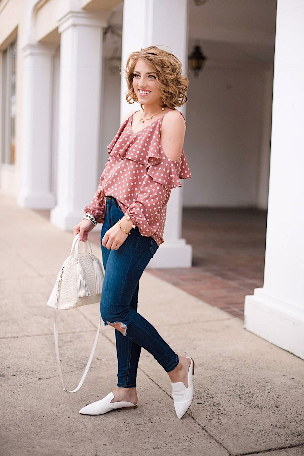 Kristin Cavallari Capri Mules - Click through to see more on Something Delightful Blog