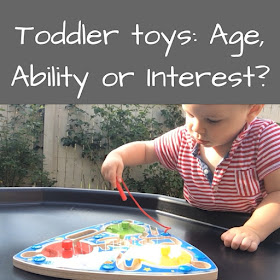 Buying Toddler Toys: age, ability or interest.  The Wicked Uncle Challenge