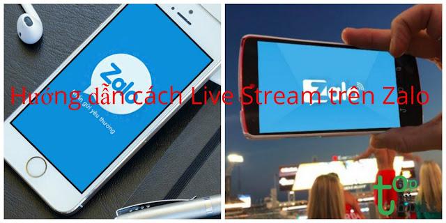 Hướng dẫn cách Live Stream trên Zalo