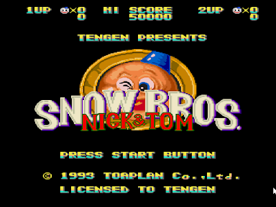 Snow Bros PC Free