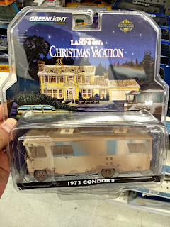 greenlight national lampoon christmas vacation rv camper dirty mud