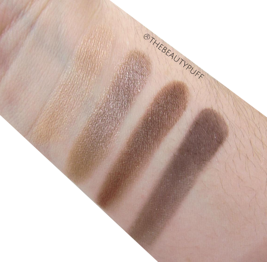 bareminerals the truth swatches - the beauty puff