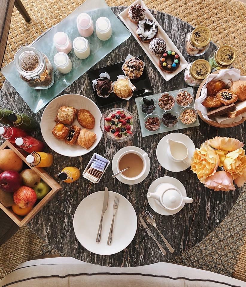 Các món ăn sáng của Hà Trúc
