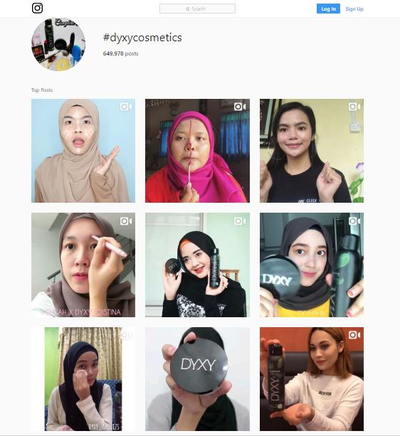 Produk DYXY Cosmetics Pilihan Ramai Wanita