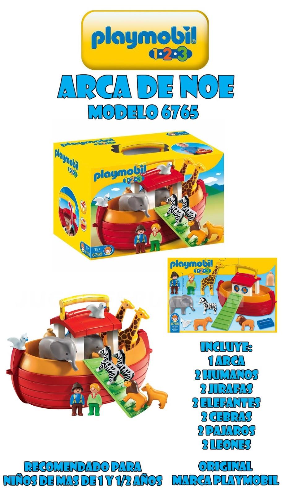 Jugueter A Le N Playmobil 6765 Arca De Noe Animales 123