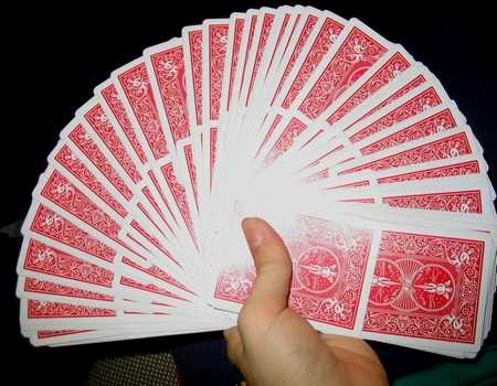 Fanned Deck of Cards