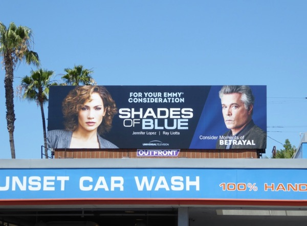 Shades of Blue season 2 Emmy billboard