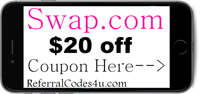 20% off Swap.com Discount Coupon Code 2018 Jan, Feb, March, April, May, June