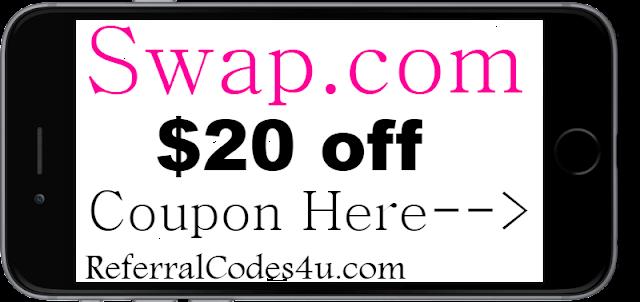 20% off Swap.com Discount Coupon Code 2021 Jan, Feb, March, April, May, June
