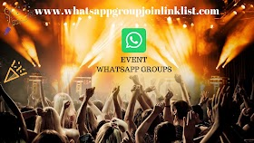 Event WhatsApp Group Join Link List