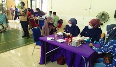 Kapolsek Sepatan : Serbuan Vaksin Gratis 1000 untuk Warga