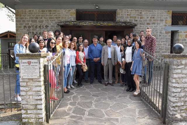 Γιάννενα: Ξένοι Φοιτητές Απο 27 Χώρες Γνωρίζουν Τους Δήμους Του Νομού Ιωαννίνων..Η Αρχή Έγινε Από Τον Δήμο Πωγωνίου