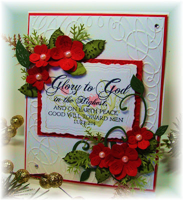 Our Daily Bread Designs, Christmas Verses, Flowering Faith, Chris Olsen