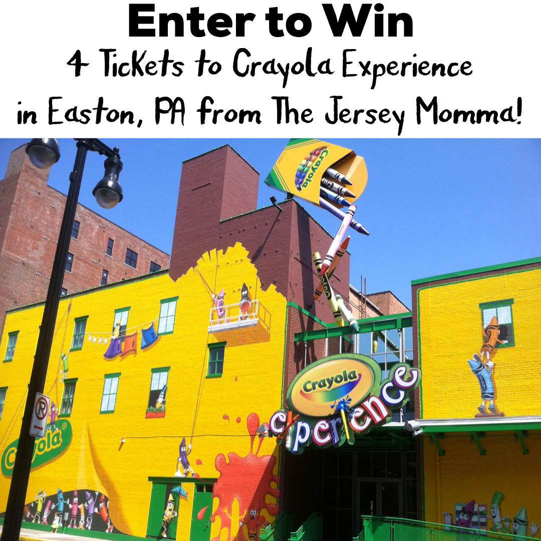 A Review of The Crayola Experience in Easton, PA - Enter to