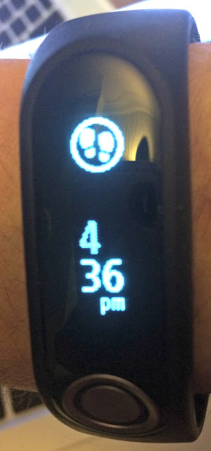 The TomTom Touch Fitness Tracker