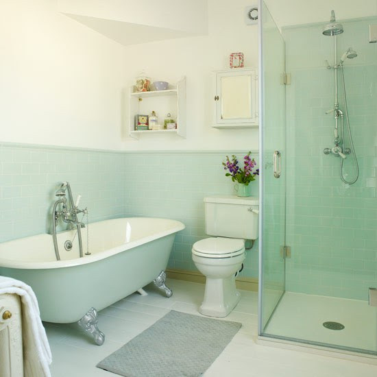 Mint Green Bathroom By Lucy Swales Interior Design