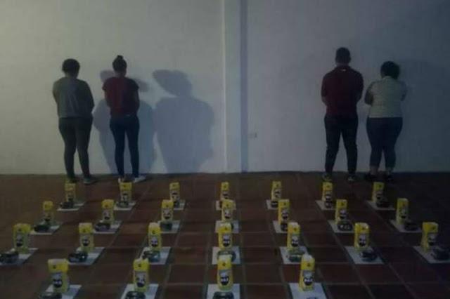 Toda la familia traficaba cocaína en bolsas de Harina Pan - Familia Unida permanece unida (en la Cárcel)