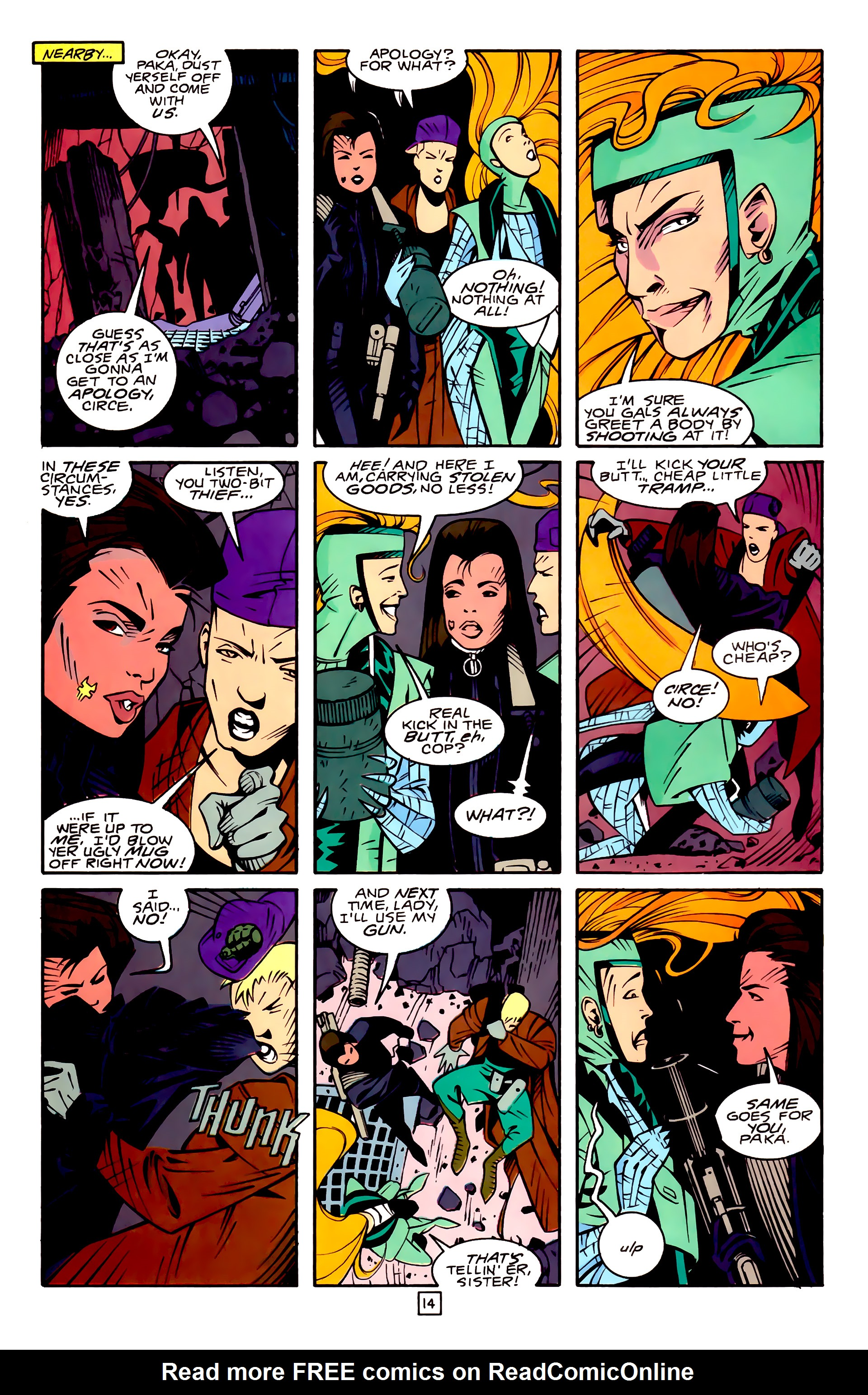 Legion of Super-Heroes (1989) 32 Page 14