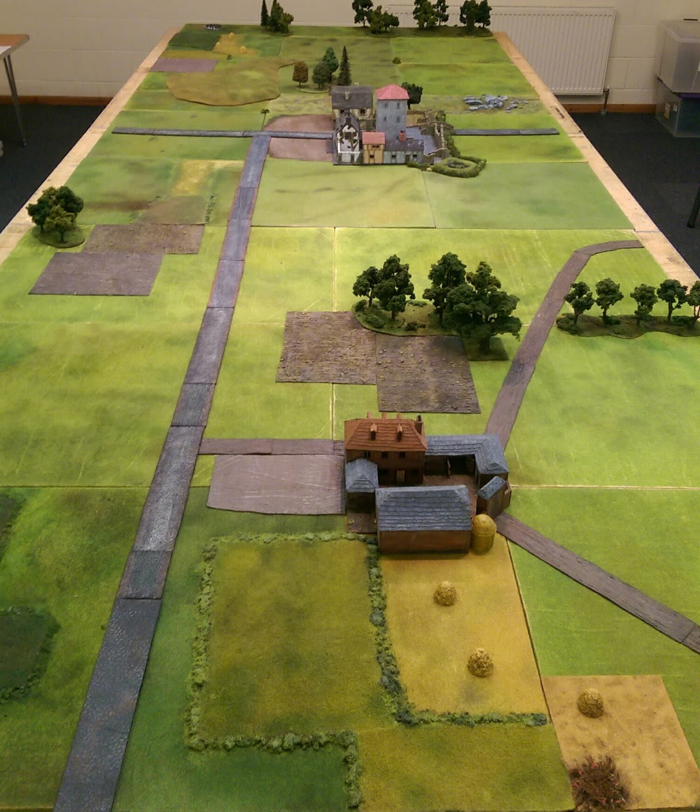 The Battlefield and two objectives